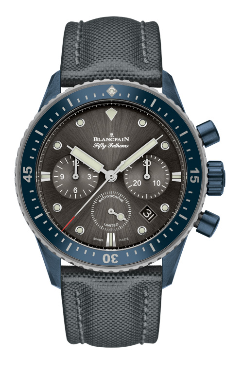 Fifty Fathoms Bathyscaphe Ocean Commitment II Flyback Chronograph ©Blancpain