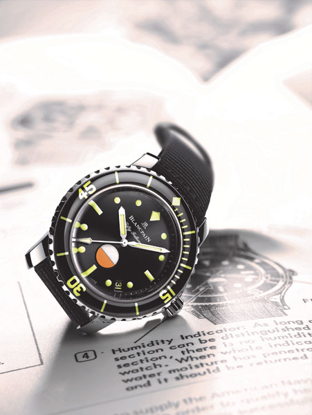 Tribute to Fifty Fathoms MIL-SPEC Only Watch