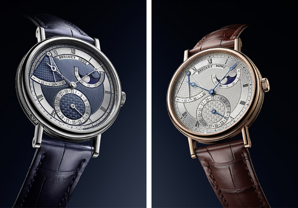 New look for the 7137 and 7337 Breguet classique
