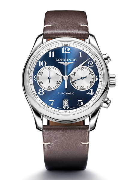 The Longines Master Collection Chronograph Bucherer Blue Editions