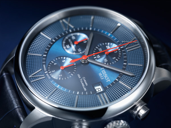Tissot Chemin des Tourelles Automatic Chronograph Bucherer Blue Editions