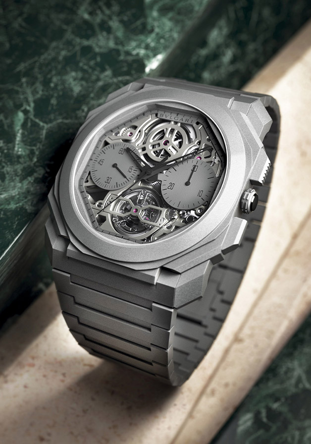 Octo Finissimo Tourbillon Chronograph Skeleton Automatic