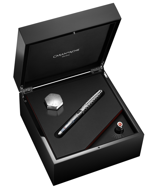 Plume et stylo roller 1010 Timekeeper, éditions limitées