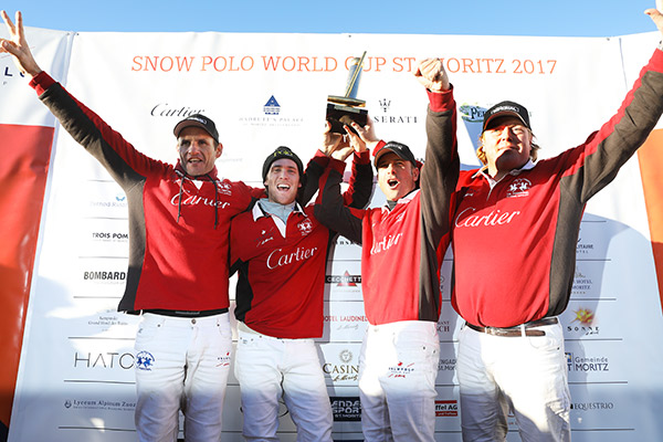 33e édition du St Moritz Polo World Cup on Snow