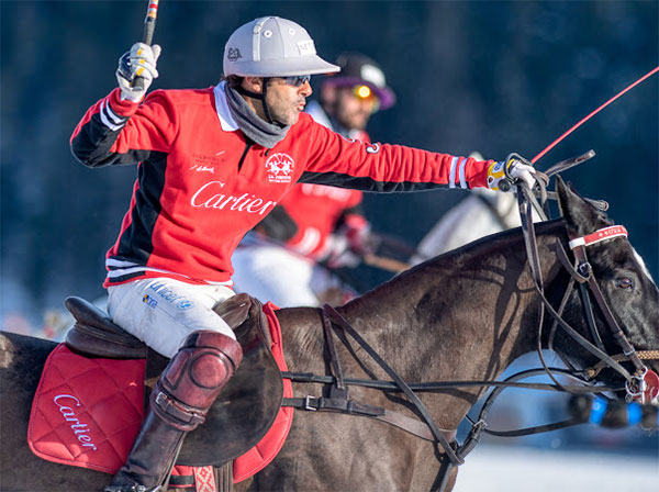La 35ème édition de la « Snow Polo World Cup Saint Moritz »