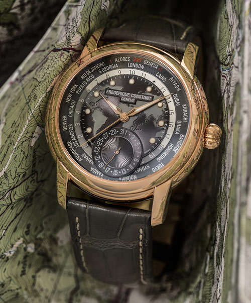 Classic Worldtimer Manufacture, gris