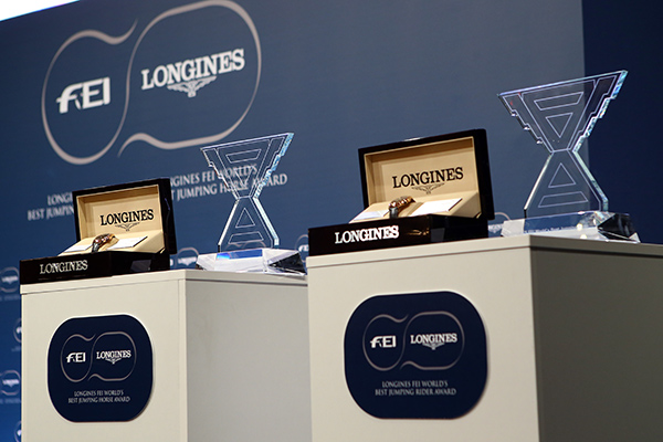 Longines FEI World's Best Jumping Rider et Horse Awards 2017