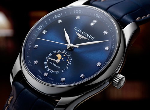 The Longines Master Collection Phases de Lune