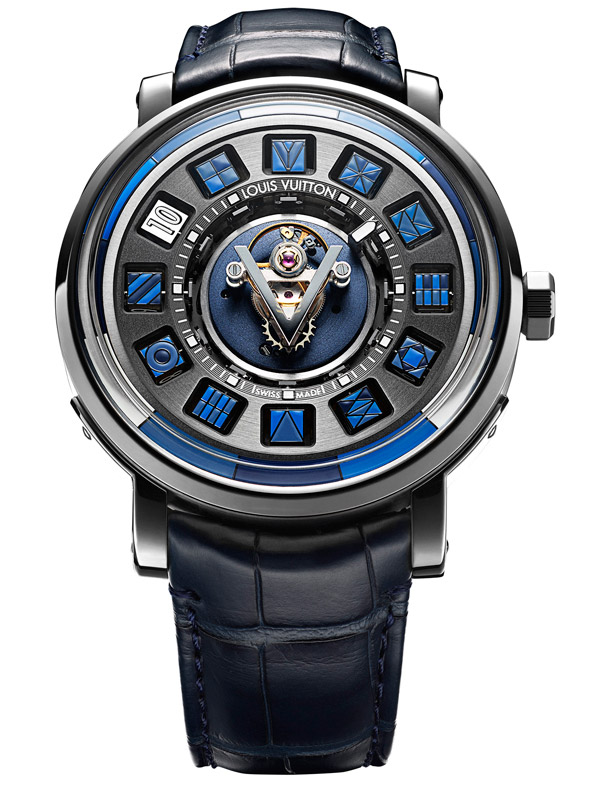 Louis Vuitton Escale Spin Time Tourbillon Central, avec tourbillon volant