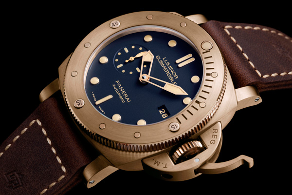 La Luminor Submersible 1950 3 Days Automatic Bronzo