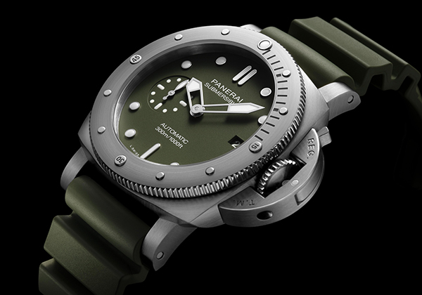 Submersible Verde Militare - 42 mm