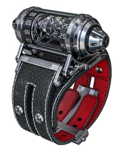 Weap-One Asymetrical Flying Tourbillon