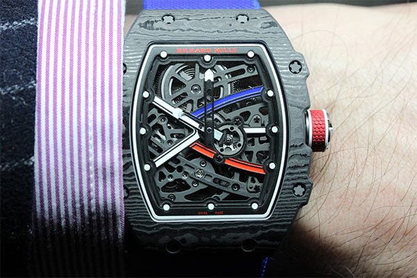 Richard Mille en chair, en os et en sucre