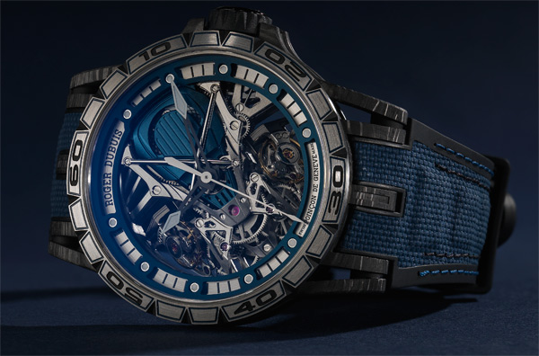 2 Excalibur, 1 Lamborghini Bucherer Blue Editions