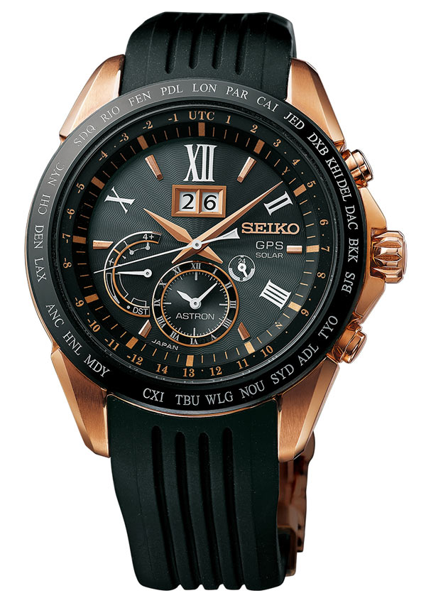 Astron GPS Solaire Grande Date