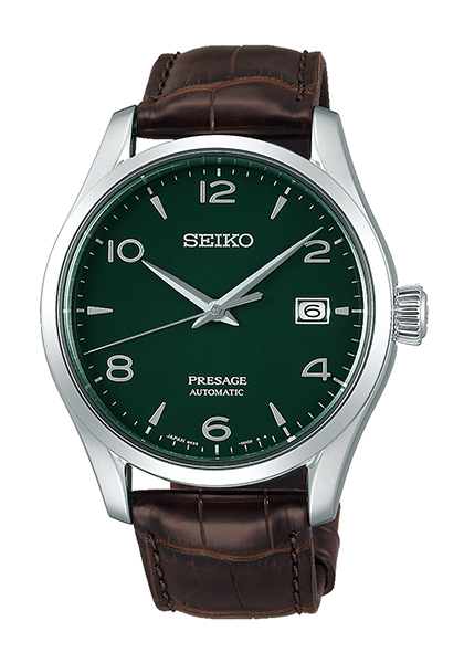 Presage Green Enamel Dial Limited Edition