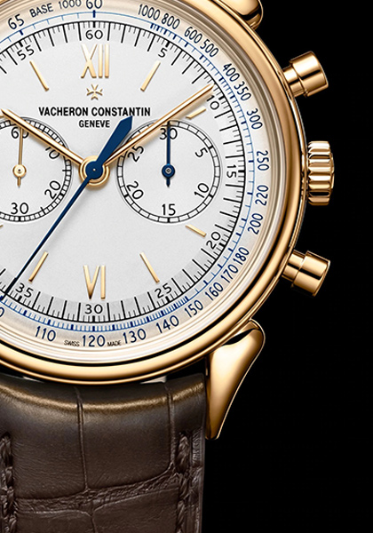Le chronographe : une institution chez Vacheron Constantin