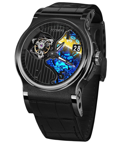 Hysek Verdict 45 Tourbillon Black